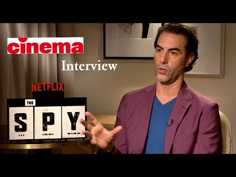 """The Spy"": Sacha Baron Cohen Interview"