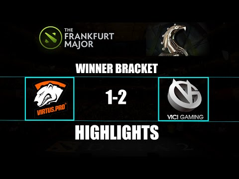 The Frankfurt Major: Virtus.Pro 1-2 Vici Gaming Highlights Winner Bracket