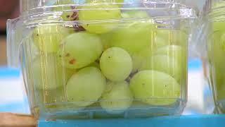 Mercados são abastecidos com frutas típicas para Ano Novo