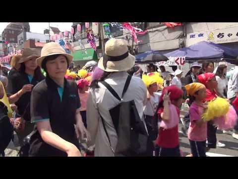 金竜小学校鼓笛隊/下町七夕まつり2017