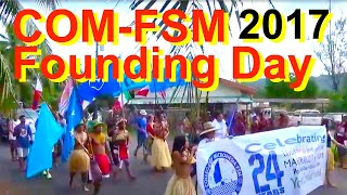 The 24nd College of Micronesia-FSM Founding Day celebrations were held at the Pohnpei Track and Field on March 30, 2017.