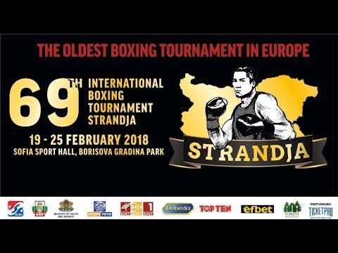 Копие на Ring A - 69th International Boxing Tournament Strandja 2018 session 5A