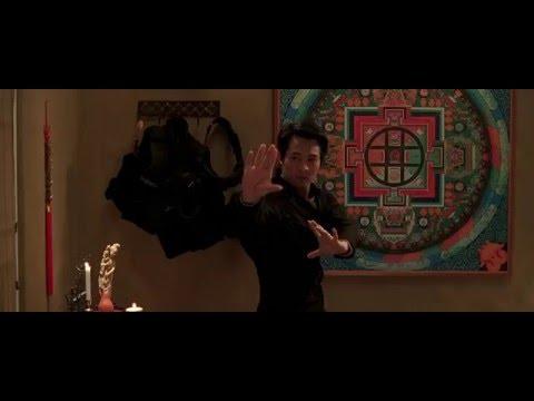 The One (2001) - Jet Li Bagua Ritual / Rooftop Training Scene HD