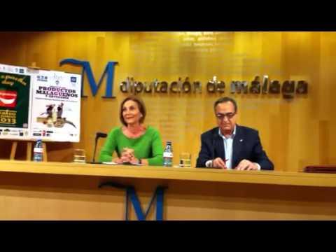 Leonor García-Agua presenta la Semana de los Productos malagueños y la Artesanía