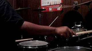 Playing Drums Off Of Lyfe Jennings