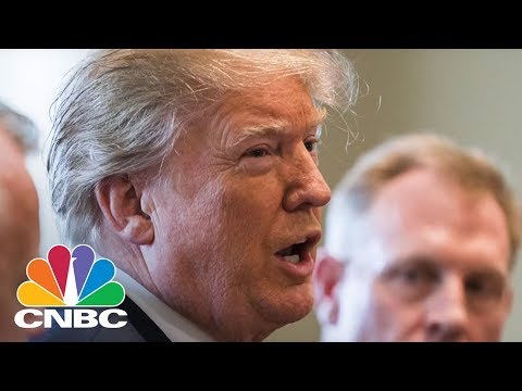 """President Donald Trump Tweets That Russia Should """"Get Ready"""" For U.S. Missile Strike In Syria 