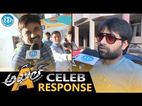 Akhil Movie Review and Celebrity response, Akhil Akkineni, Sayyeshaa