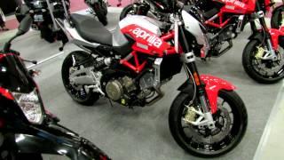 10. 2012 Aprilia Shiver 750 at 2012 Montreal Motorcycle Show - Salon de la Moto de Montreal