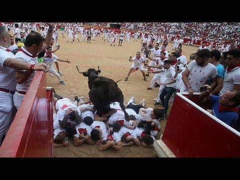 Οι αιματηρές ταυροδρομίες στην Παμπλόνα