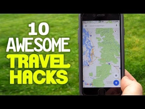 10 Awesome Travel Hacks YOU Should Try