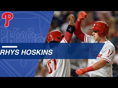 Hoskins sets record with 18 homers in first 34 games