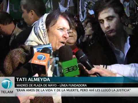 Astiz y Acosta, condenados a prisión perpetua por los crímenes cometidos en la ESMA
