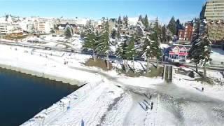 test drone dji inspire 1 bariloche nieve 2017