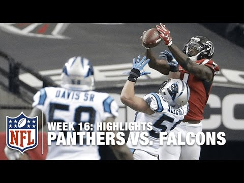 Falcons Spoil Panthers Perfect Season | Week 16 Highlights | NFL