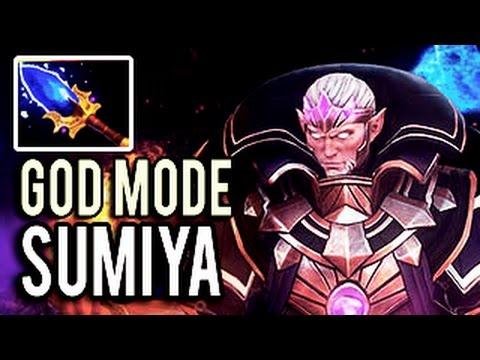 WTF 25 min Impossible Godlike Invoker Boss by Sumiya ► God Mode ON! 7.05 Dota 2
