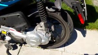 9. Piaggio Typhoon 4t 4v idle speed