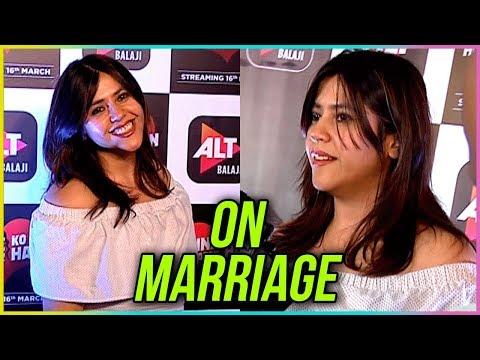 "Ekta Kapoor CONFESSES ""True Love Has No Boundari"