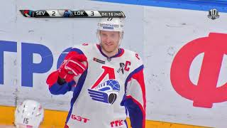 Lokomotiv 6 Severstal 5 OT, 18 January 2018 Highlights