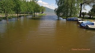 Yverdon-les-Bains Switzerland  City new picture : crue lac neuchatel, yverdon-les-bains, mai 2015