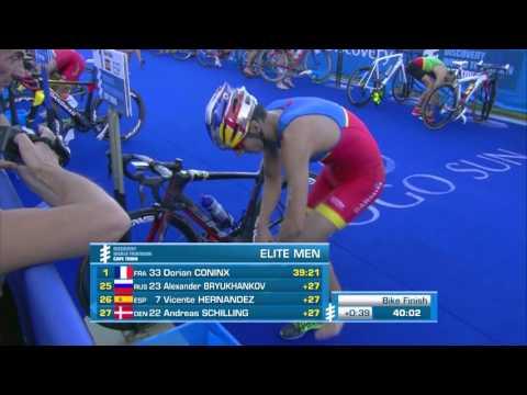 2016 Discovery World Triathlon Cape Town - Elite Men's Highlight