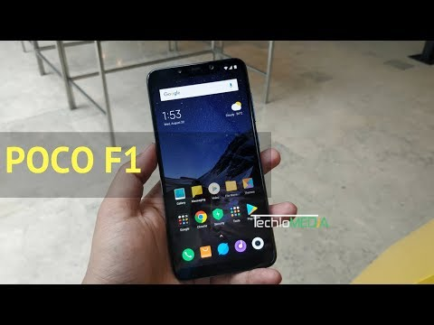 POCO F1 First Look : Hands-on Overview