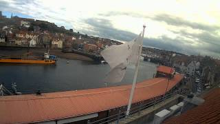 Whitby Tue 21st Jul 2015 24-Hour Time-lapse (Upriver)