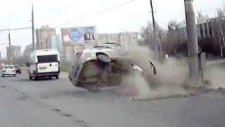 Жесткие аварии второй недели Апреля 2016