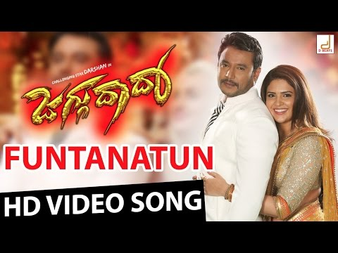 Jaggu Dada - Funtanatun Full HD Kannada Movie Video Song | Challenging Star Darshan | V Harikrishna