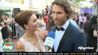 Angelique Boyer y Sebastian Rulli  Muy enamorados _ PremiosTvyNovelas