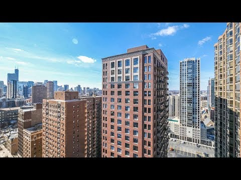 A sunny Gold Coast 2-bedroom, 2-bath with a balcony at 1133 North Dearborn