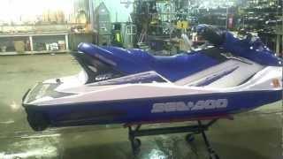 9. LOT 1438B 2002 SEA DOO GTX 4 Tec Jet Ski
