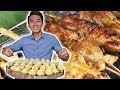 Delicious Street Food In Tra Su Cajuput Forest Area An Giang Viet Nam Travel