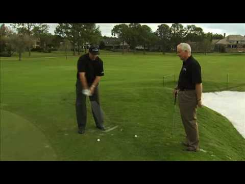 A Flop Shot Lesson With Phil Mickelson