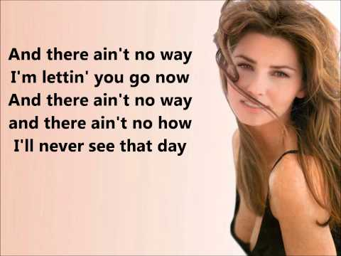 Forever And For Always- Shania Twain (Lyrics)