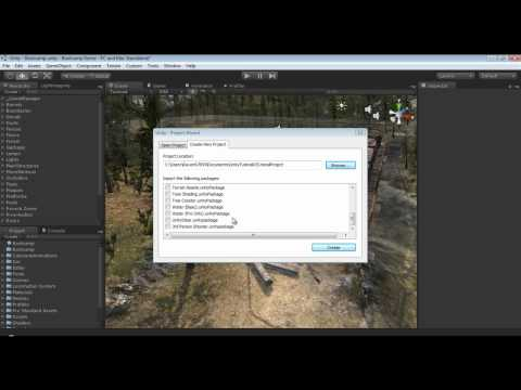 preview-Unity3D Tutorial Series: - Creating Our First Project (raven67854)