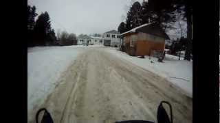 9. New Polaris IQ 600 HO CFI Jump NOT GOOD