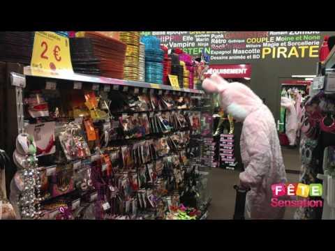 Magasin Fête Sensation - Les courses du lapin de Pâques