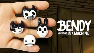 DIY BENDY AND THE INK MACHINE POLYMER CLAY CHARMS. I hope you guys enjoy it & always feel free to leave me recommendations for videos in my comment section. It gives me ideas of what to make next ;D LOVE YOU GUYS! BYE! = SUBSCRIBE ❤ https://goo.gl/V5GAva ❤= My Social Media= - Tumblr @ http://goo.gl/btvSsv- Pinterest @ https://goo.gl/LDfTxp- Instagram @ https://goo.gl/wymAop= Music Youtube Audio Library- Chomatic3Fantasia - Classical Rousing by Kevin MacLeod  Source: https://goo.gl/EHS9Jj- Blown Away - Netherworld Shanty by Kevin MacLeod  Source: https://goo.gl/F38bme Artist: http://incompetech.com/-  Creative Commons Attribution license @   (https://creativecommons.org/licenses/by/4.0/)❤ This Video was NOT Sponsored =D= I created this video with: Cyberlink Power Director 14 Ultimate, Sketchbook Pro, Picmonkey.com,  Wacom Intous Pen Tablet & Moho Pro 12.