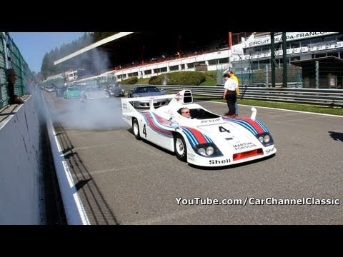 porsche 936 martini racing amazing sound!