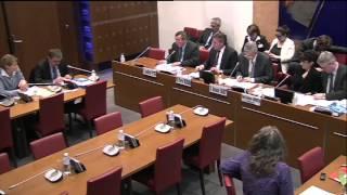 Projet de loi Travail : audition du patronat, mon intervention en commission