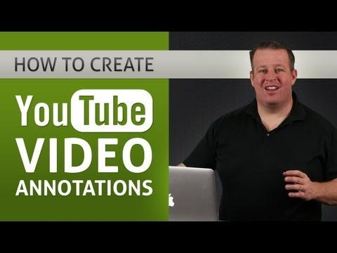 annotations - How To Create YouTube Video Annotations http://derraleves.com/how-to-create-youtube-video-annotations Derral Eves shares how to add annotations to your YouTu...