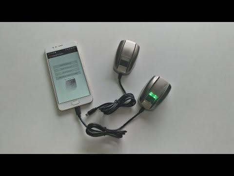INJES Free Android SDK USB Micro USB fingerprint scanner FRT808