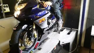 9. Suzuki GSXR 750 K5 Dyno full yoshimura system