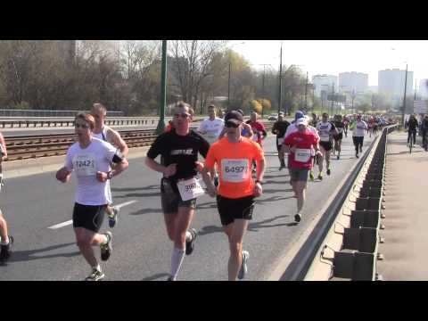 7 Półmaraton  Poznań part 1 06.04.2014 (видео)