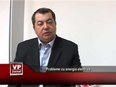 Probleme cu energia electrică
