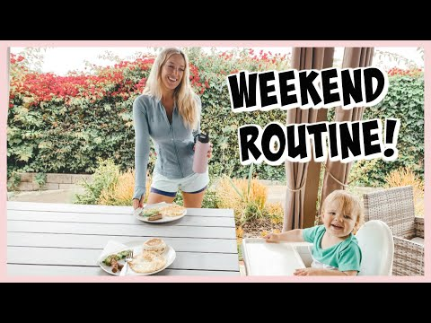 HEALTHY WEEKEND ROUTINE! EASY WAYS TO BE HEALTHY | OLIVIA ZAPO
