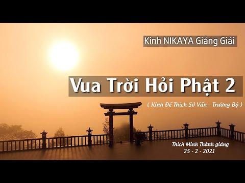 Kinh NIKAYA Giảng Giải - Vua Trời Hỏi Phật 2 _ Kinh Đế Thích Sở Vấn _ Trường Bộ