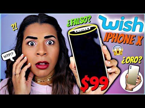 COMPRÉ un iPhone X FALSO en WISH por $99 ¿vale la pena?