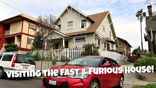 VISITING THE FAST & FURIOUS HOUSE!