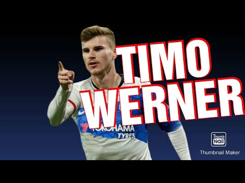 Timo Werner skills and goals 2020